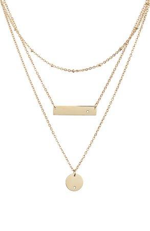 Knotty Multistrand Pendant Necklace | Nordstrom