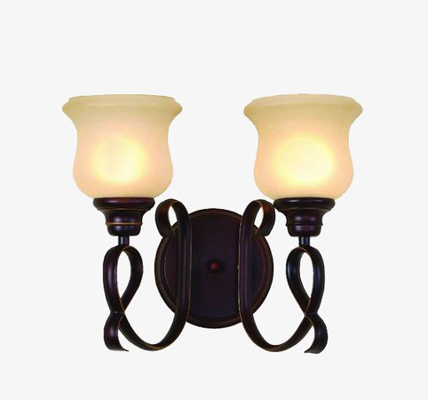 Minimalist Style Double Light Wall Sconce, Product Kind, Digital Appliances, Wall Lamp PNG Image and Clipart for Free Download