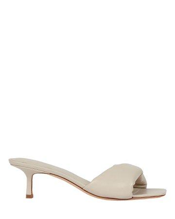 Studio Amelia 3.32 Leather Slide Sandals | INTERMIX®