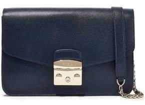 Metropolis Textured-leather Shoulder Bag