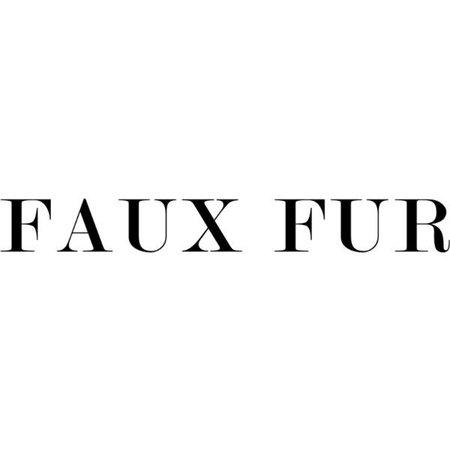 faux fur text - Google Search