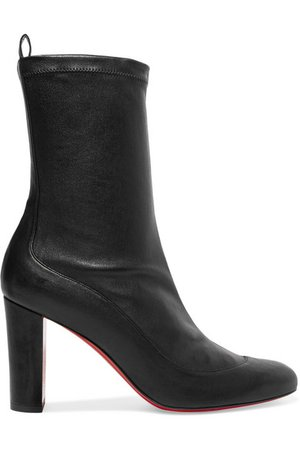 Christian Louboutin | Gena 85 stretch-leather sock boots | NET-A-PORTER.COM