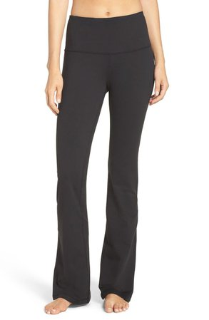 Zella Barely Flare Live in High Waist Pants | Nordstrom
