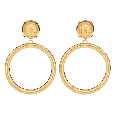 Clip-On Hoop Earrings - Dolce & Gabbana | Mytheresa
