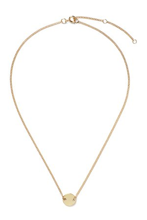 Ruler Necklace - Gold - Jewellery - Weekday GB