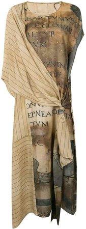 Draped Panelled Dress