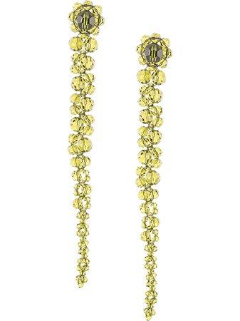 Simone Rocha beaded drop earrings - FARFETCH