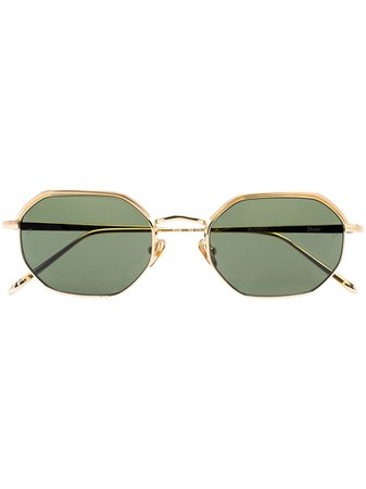 Linda Farrow hexagonal-frame Sunglasses - Farfetch