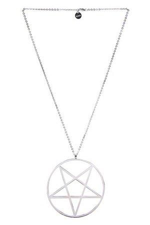 Pentagram Necklace [S] | KILLSTAR - US Store