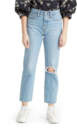 Wedgie Ripped High Waist Jeans