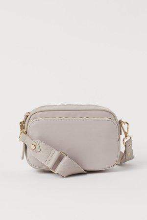 Small Shoulder Bag - Brown