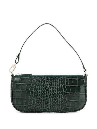 Dark Green Baguette Bag