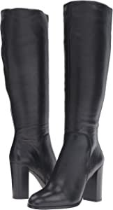 Amazon.com | Kenneth Cole New York Women's Justin Fashion Boot, Black, 8 M US | Knee-High