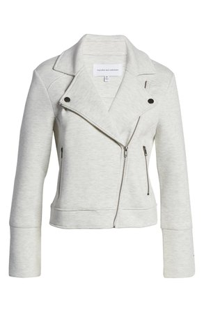 cupcakes and cashmere Annabelle Knit Moto Jacket