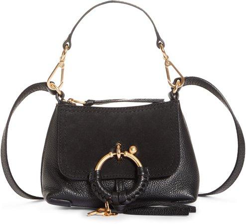 Mini Joan Leather Crossbody Bag