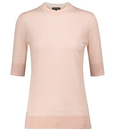 Loro Piana - Fontvieille cashmere and silk sweater   Mytheresa