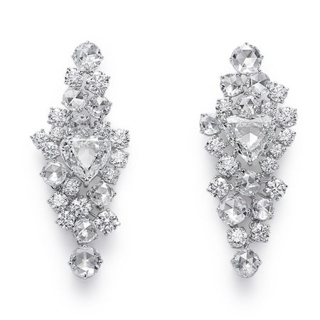 Chopard RedCarpet2019 SuperB diamond earrings