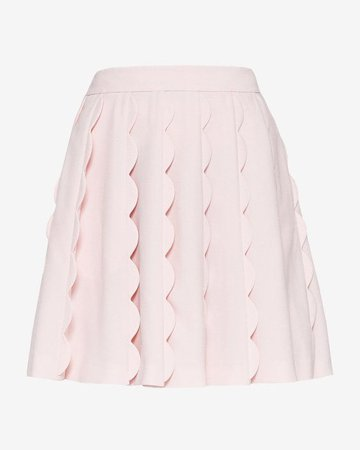 Pinterest - Scallop detail mini skirt - Baby Pink | Back To The Fuchsia | Ted Baker UK | Clothes