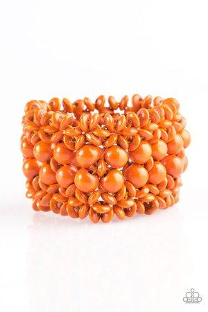 tropical jewelry orange - Google Search