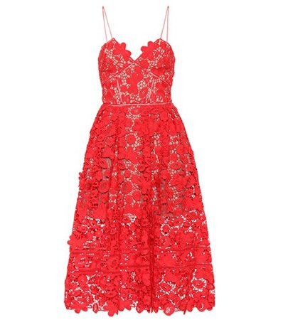 Azaelea lace midi dress