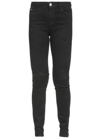 Philipp Plein Slim Fit Statement Jeans