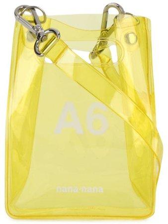 Nana-Nana Mini A6 Tote Bag NA021A6 Yellow | Farfetch