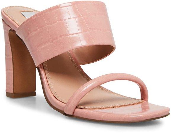 Jive Croc Embossed Slip On Sandal