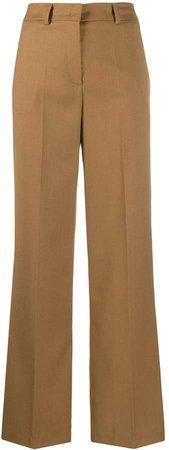 Blanca Vita high-rise wide-leg trousers