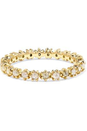 Melissa Joy Manning | 18-karat gold diamond ring | NET-A-PORTER.COM