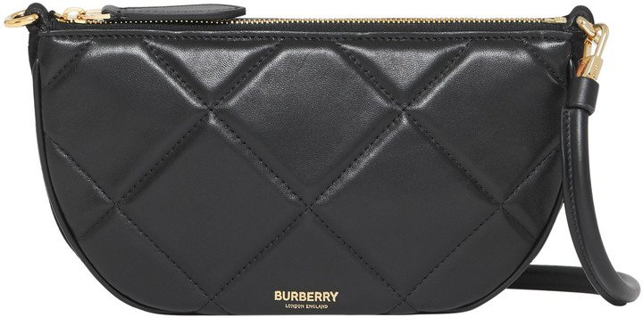 Olympia Quilted Leather Shoulder Bag