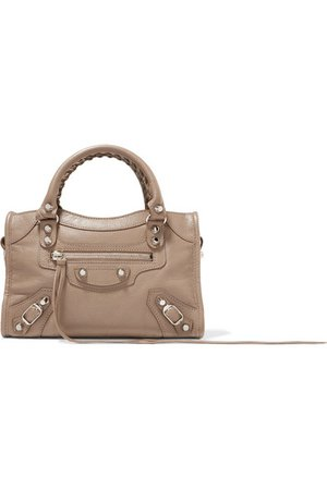 Balenciaga | Classic City AJ textured-leather tote | NET-A-PORTER.COM