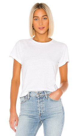 RE/DONE The Classic Tee in Vintage White | REVOLVE