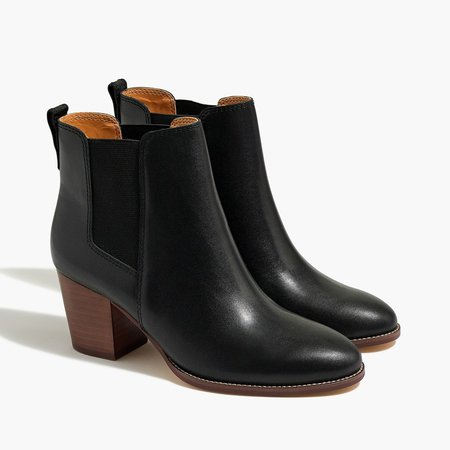 Rory leather heeled boots