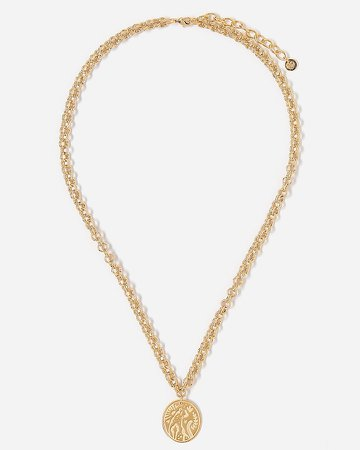 Tess + Tricia Wild Cheetah Double Link Necklace