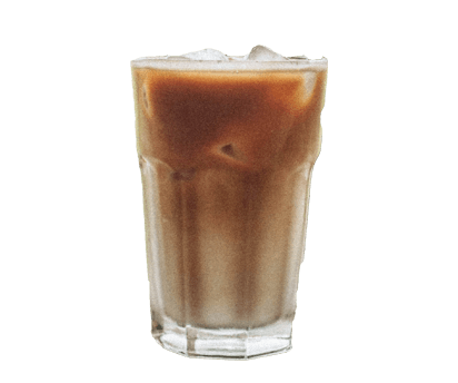 *clipped by @luci-her* iced latte