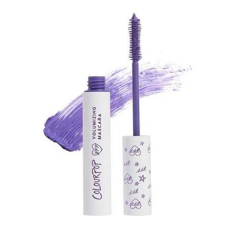 colourpop purple mascara