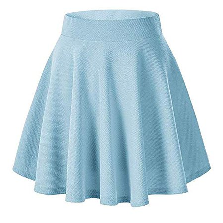 Pastel Blue Skater Skirt