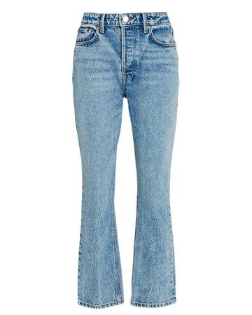 GRLFRND Karolina Distressed High-Rise Jeans | INTERMIX®