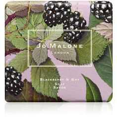 Jo Malone London Blackberry & Bay Soap (1.150 RUB) ❤ liked on Polyvore featuring beauty products, bath & body products, body cleansers, beauty, fillers, makeup, cosmetics, accessories and jo malone