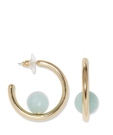 Sole Society Midi Ball Hoops   Sole Society Shoes, Bags and Accessories