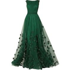 gowns green