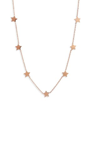 Knotty Stars Charm Necklace | Nordstrom