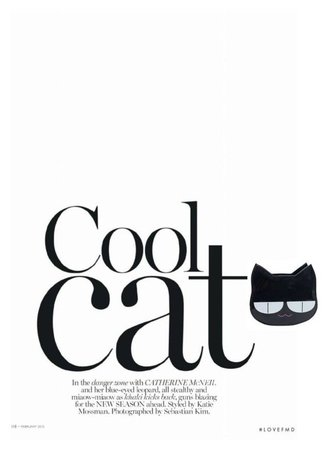 cool cat magazine text