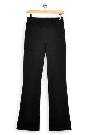 Topshop Bengaline Flared Trousers | Nordstrom