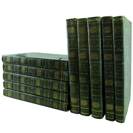 History of England, Bowyer Edition, Ten Volumes For Sale at 1stdibs