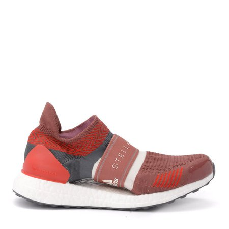 Adidas By Stella Mccartney Ultraboost X 3d Sneaker In Red And Gray Fabric