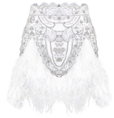 Raisa Vanessa white skirt (fw19/20) €2890