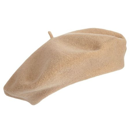 Light brown beret
