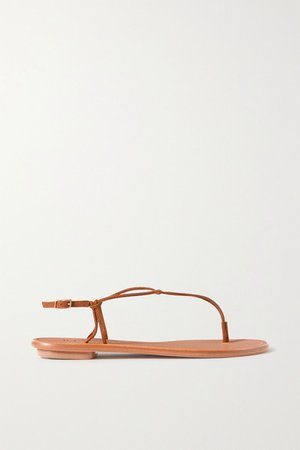 Very Capri Suede Sandals - Tan
