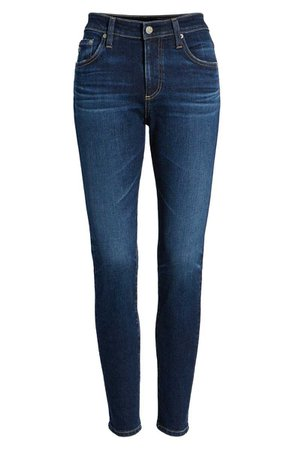 AG The Farrah Ankle Skinny Jeans (7 Years Astro Azure) | Nordstrom